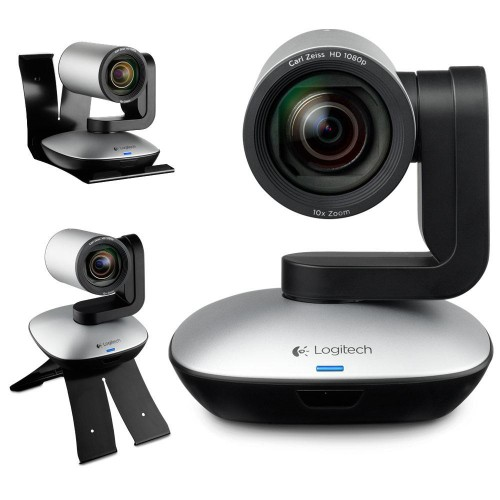 Webcam Logitech CC3000e HD 1080, 10x, tích hợp Micro và Speakerphone