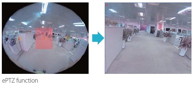 Camera Hội nghị truyền hình Ismart sử dụng công nghệ ePTZ